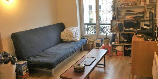 Appartement studio de 16m² à Paris 15ème